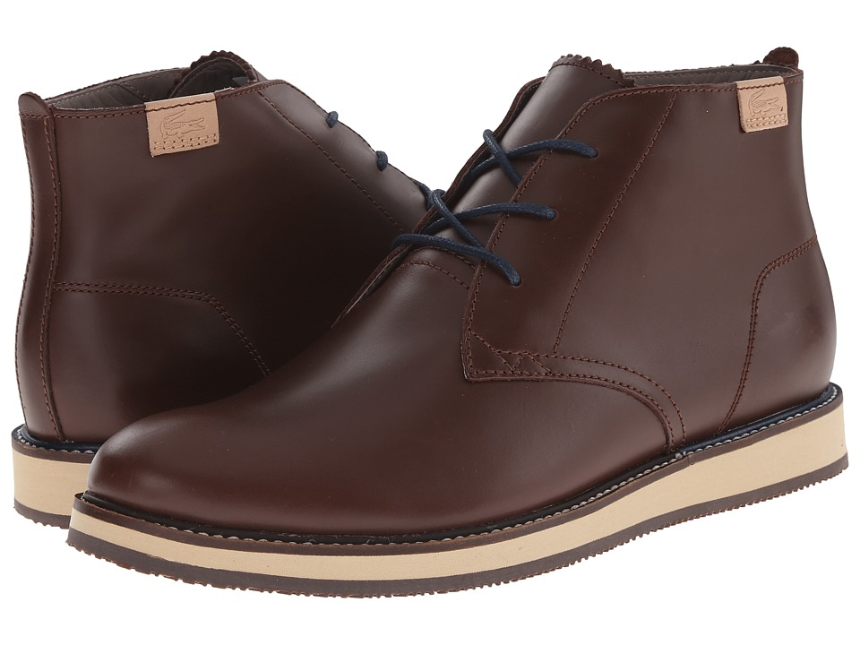 Lacoste - Millard Chukka 2 (Dark Brown) Men's Shoes
