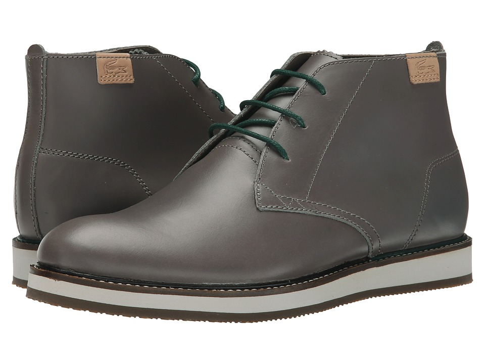 Lacoste - Millard Chukka 2 (Grey) Men's Shoes