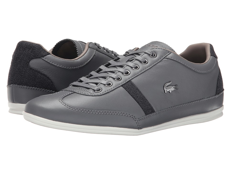 Lacoste - Misano 37 (Grey) Men's Shoes