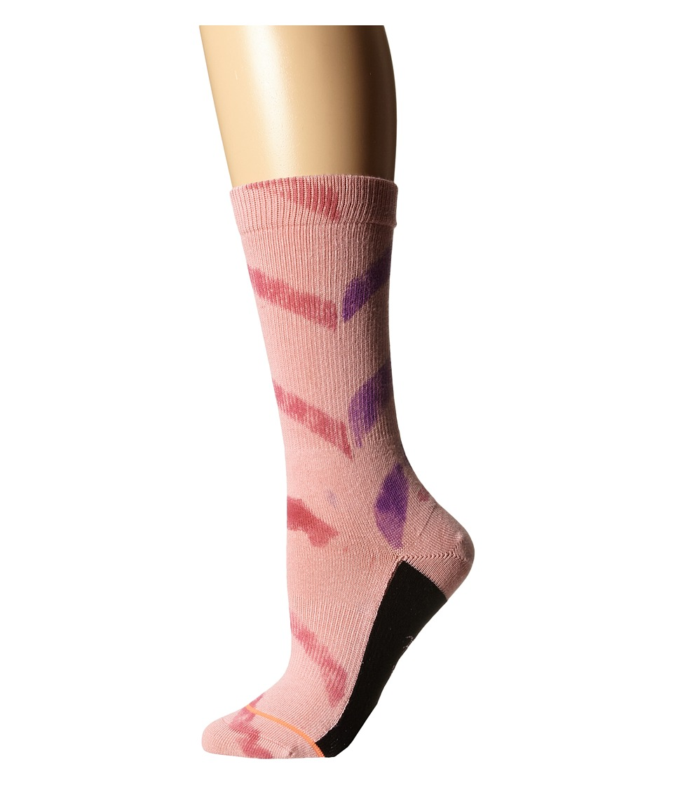 Stance - Strength (Pink) Women's Crew Cut Socks Shoes