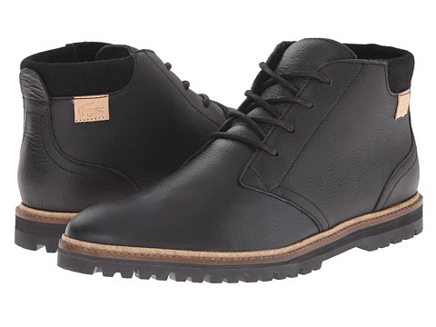 Lacoste - Montbard Chukka 2 (Black) Men's Shoes