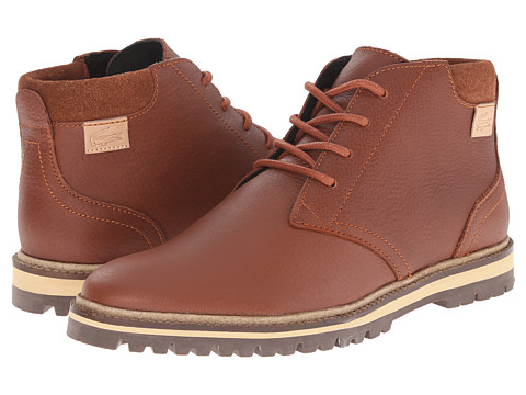 Lacoste - Montbard Chukka 2 (Tan) Men's Shoes