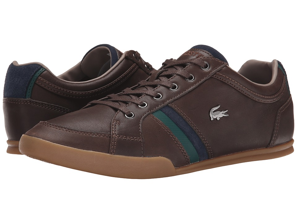 Lacoste - Rayford 10 (Dark Brown) Men's Shoes