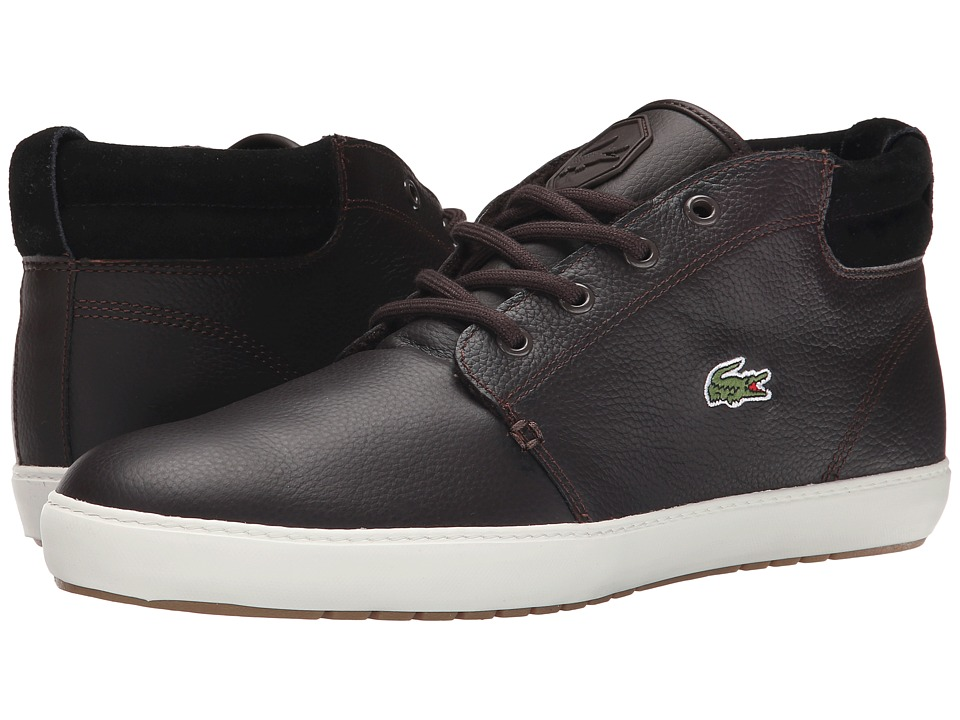 Lacoste - Ampthill Terra Put (Dark Brown/Dark Brown) Men's Shoes