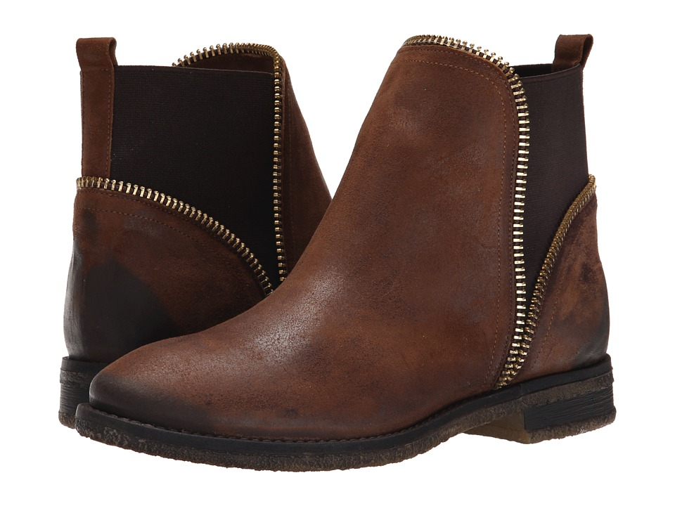 Miz Mooz - Flossy (Brown) Women's Pull-on Boots