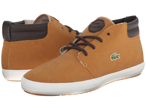 Lacoste - Ampthill Terra Put 3 (Dark Tan/Dark Tan) Men's Shoes