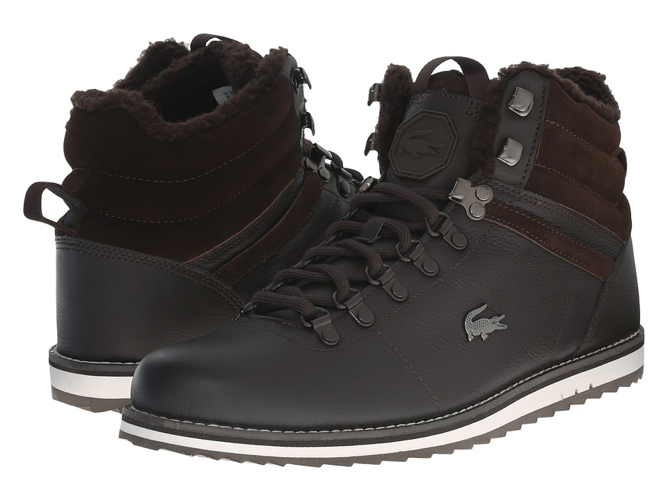 Lacoste - Jarmund Put (Dark Brown/Dark Brown) Men
