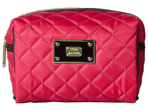 Steve Madden - Cosmetic Loaf Bag (Pink) Cosmetic Case