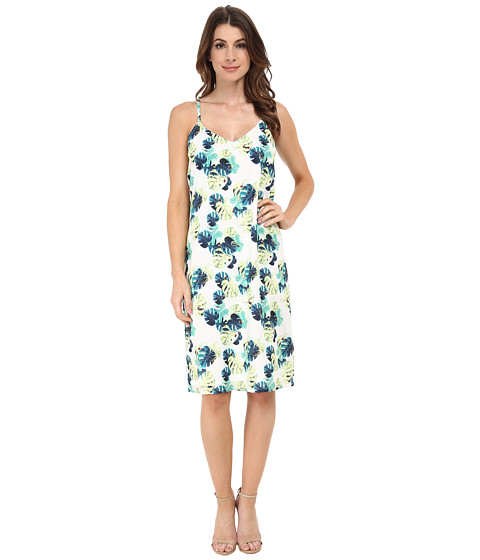 Whitney Eve - Snapdragon Dress (White Palm) Women's Dress