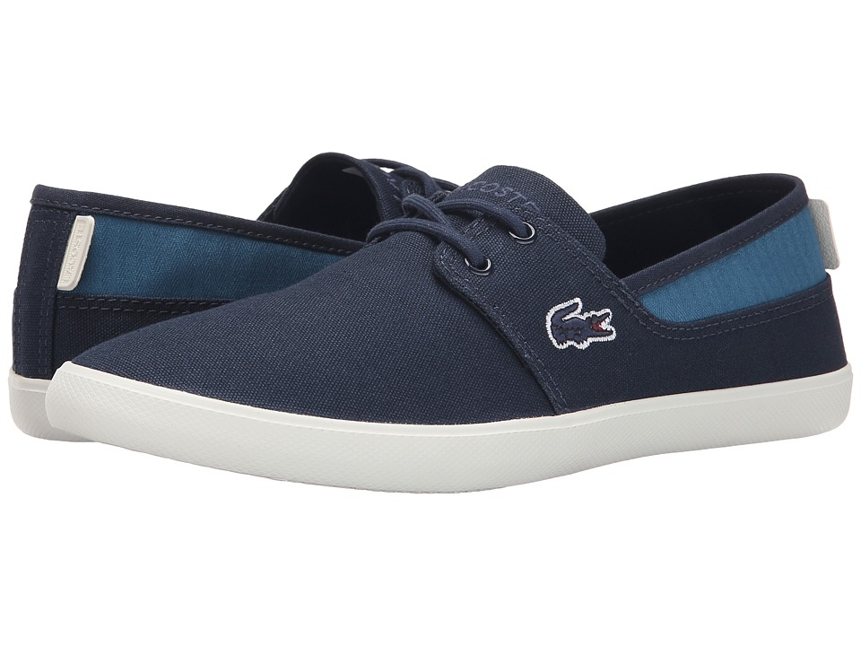 Lacoste - Marice Lace FPM (Dark Blue/Dark Blue) Men's Lace up casual Shoes