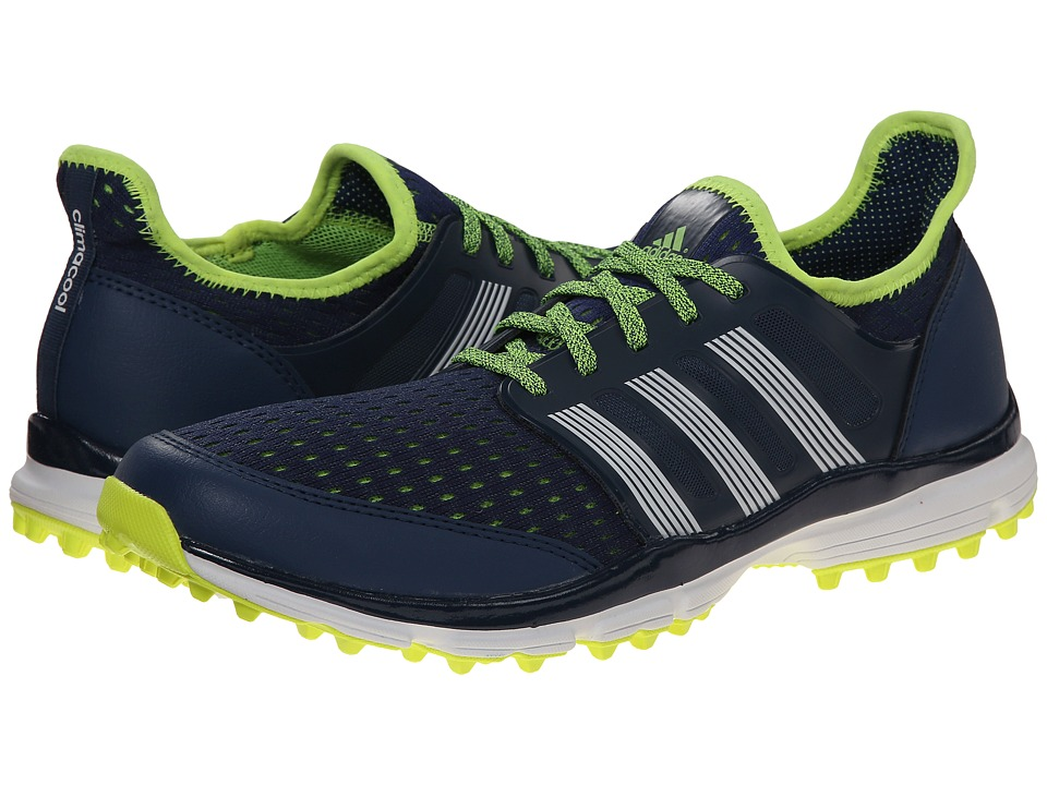 adidas Golf - Climacool (Night Marine/White/Yellow) Men's Golf Shoes