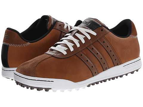 adidas Golf - Adicross Classic (Tan Brown/Tan Brown/White) Men