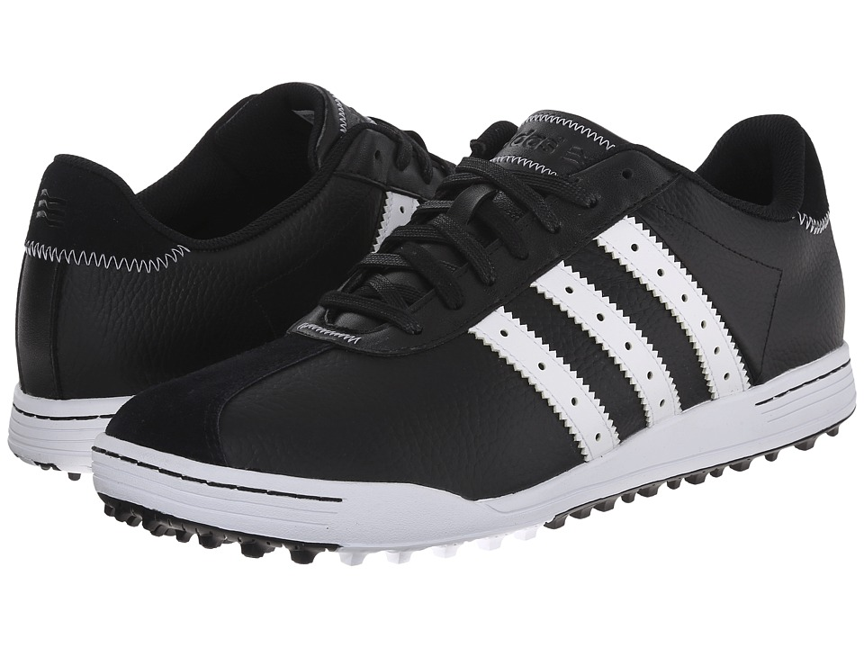adidas Golf - Adicross Classic (Core Black/White/White) Men's Golf Shoes
