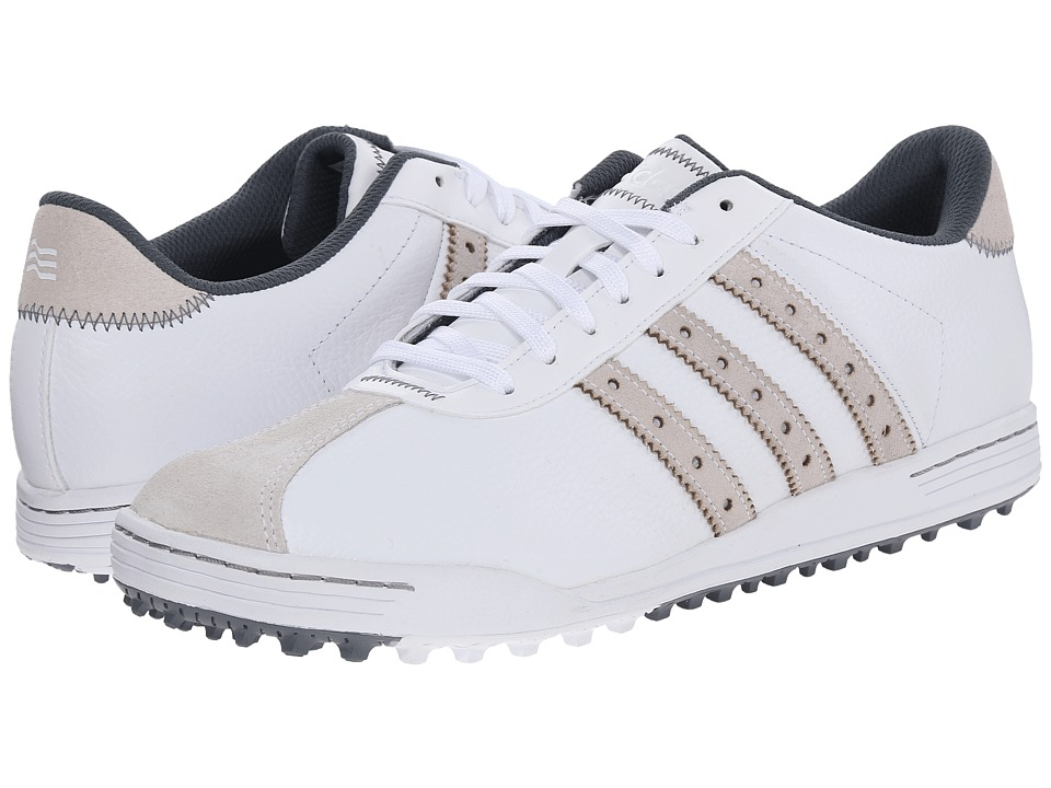 adidas Golf - Adicross Classic (White/White/Onix) Men's Golf Shoes