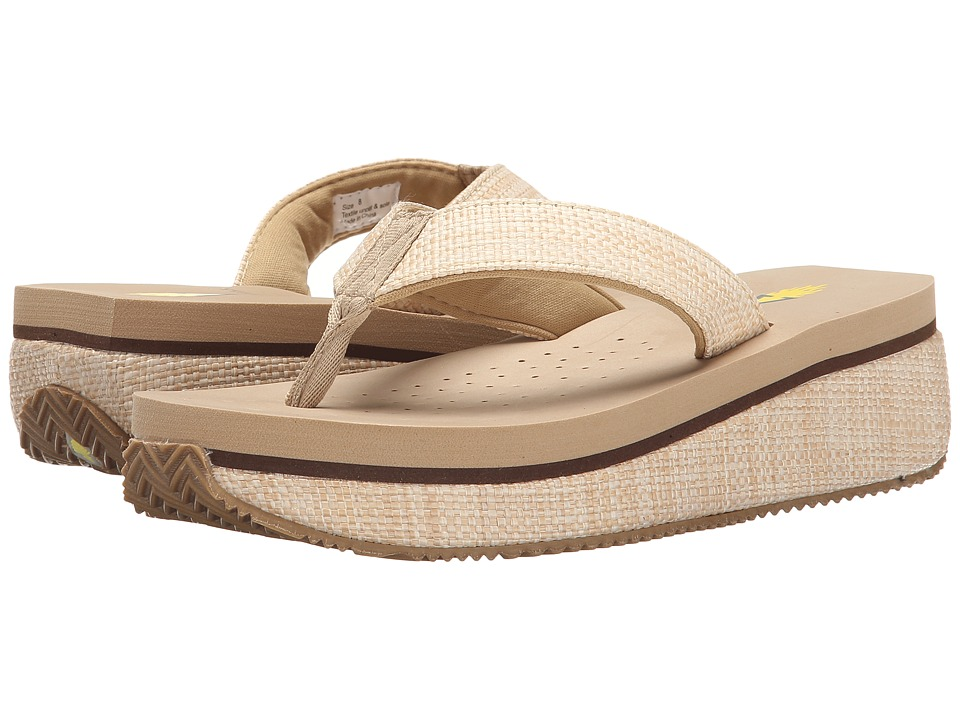 VOLATILE - Unwind (Natural) Women's Sandals