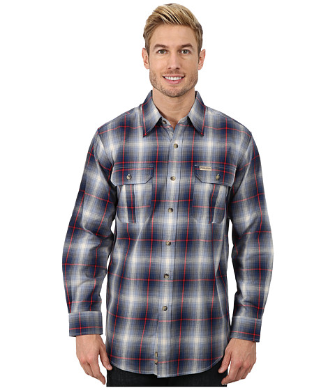 Pendleton - Pioneer Shirt (Blue/Tan Ombre) Men