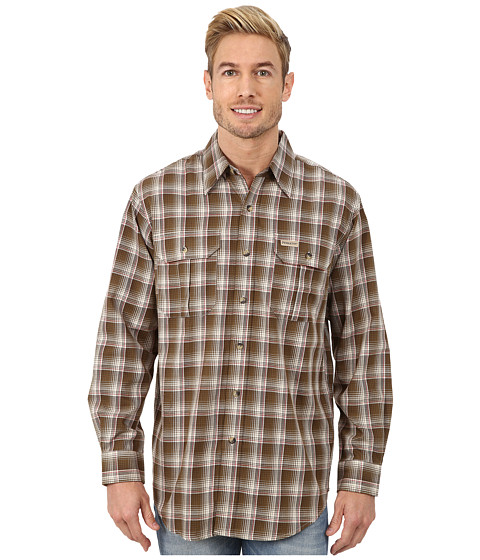 Pendleton - Pioneer Shirt (Olive Ombre) Men's Clothing