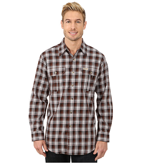 Pendleton - Pioneer Shirt (Brown/Black Ombre) Men's Clothing
