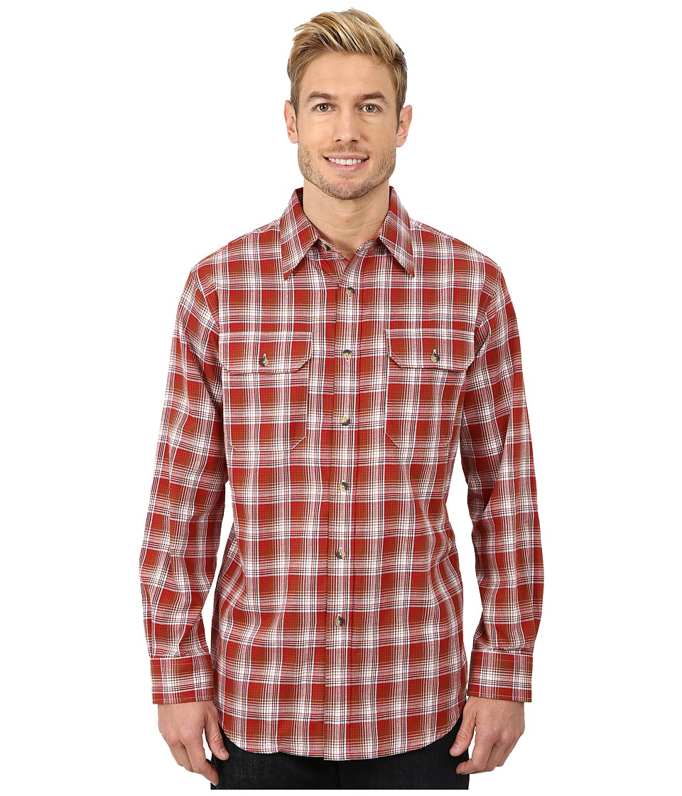 Pendleton - Pioneer Shirt (Red/Tan Ombre) Men's Clothing