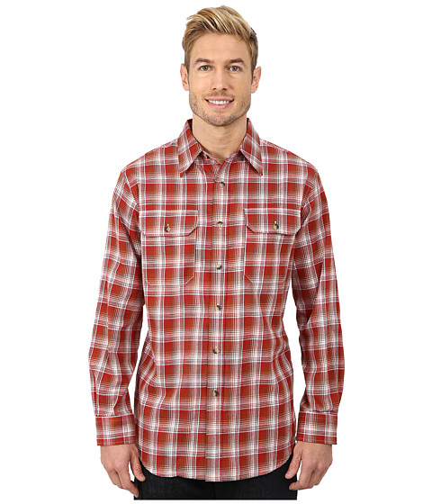 Pendleton - Pioneer Shirt (Red/Tan Ombre) Men