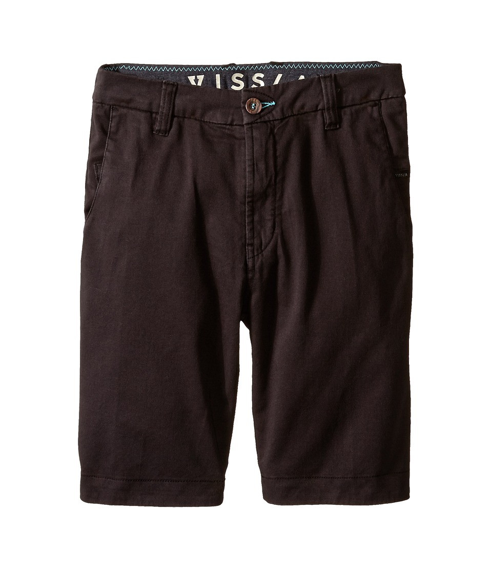 VISSLA Kids - No See Ums (Big Kids) (Phantom) Boy's Shorts