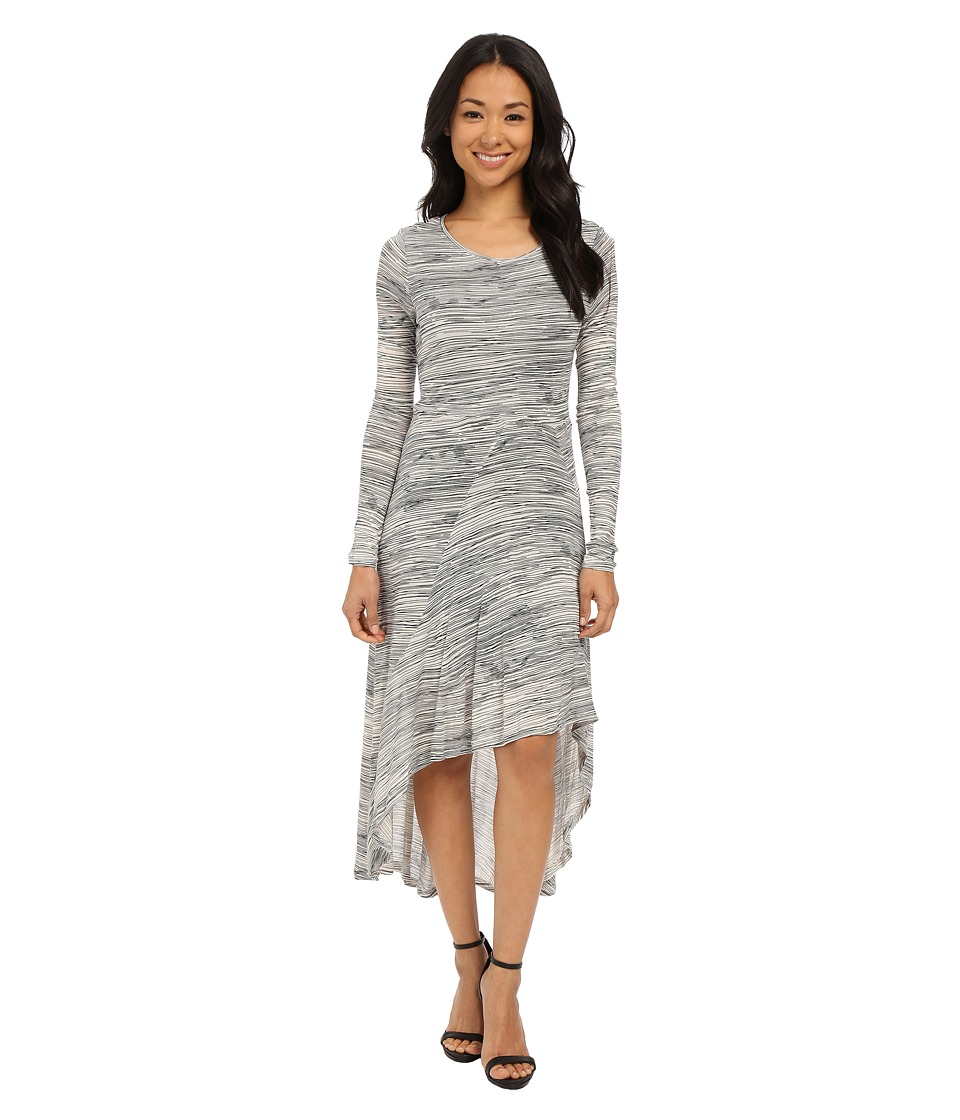 kensie Scribbled Lines Dress KSNK7768 (Pearl Combo) Women