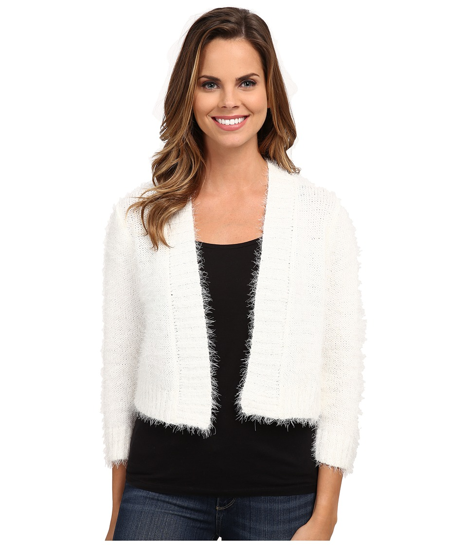 rsvp - Bre Fuzzy Shrug (Ivory) Women's Sweater