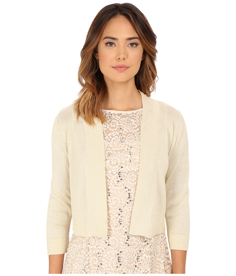 rsvp - Bre Shrug with Lurex (Ivory/Gold) Women's Sweater