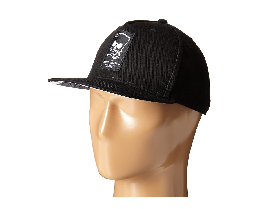 Neff - Trouble Maker Cap (Little Kid/Big Kid) (Black) Caps