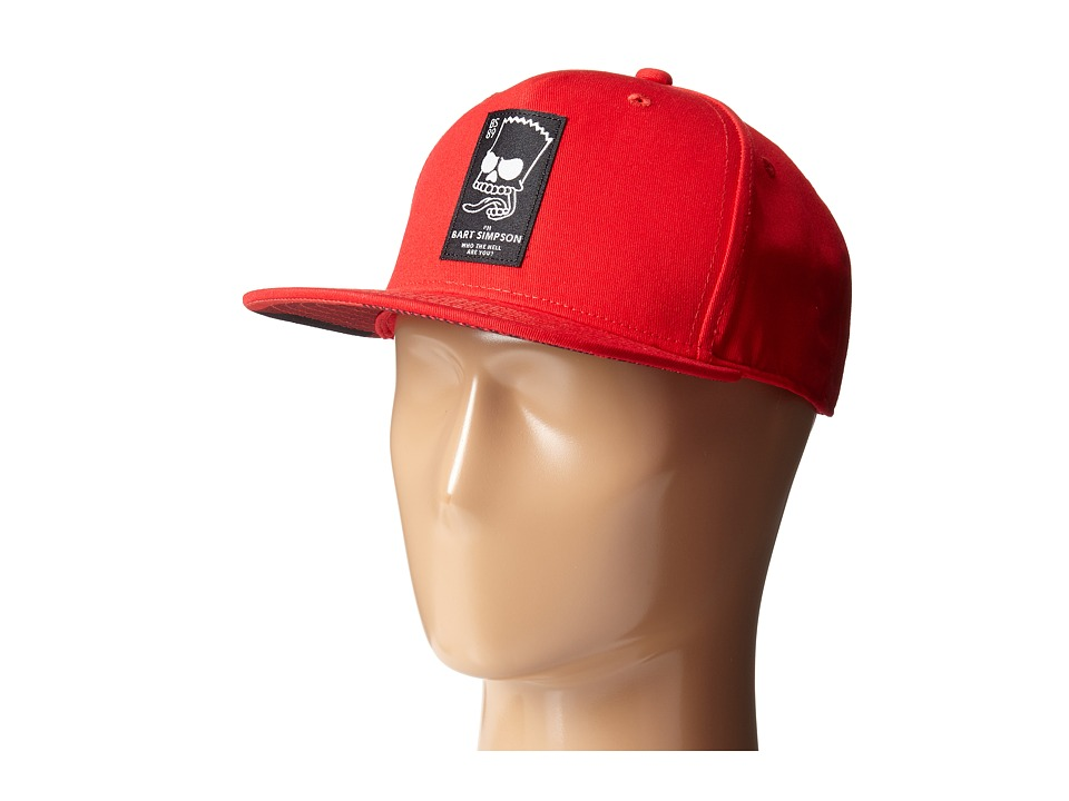 Neff - Trouble Maker Cap (Little Kid/Big Kid) (Red) Caps