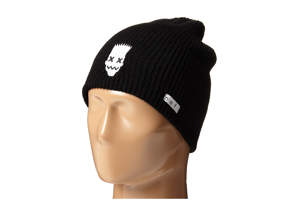 Neff - Wasabi Beanie (Little Kid/Big Kid) (Black) Beanies