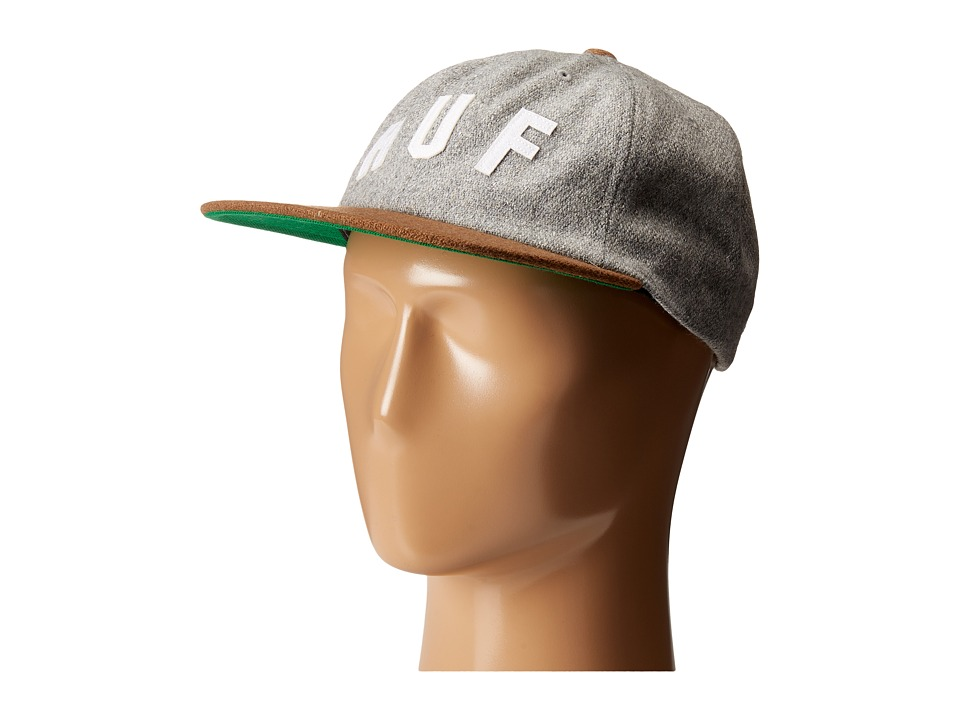 HUF - Shortstop 6 Panel (Grey) Caps