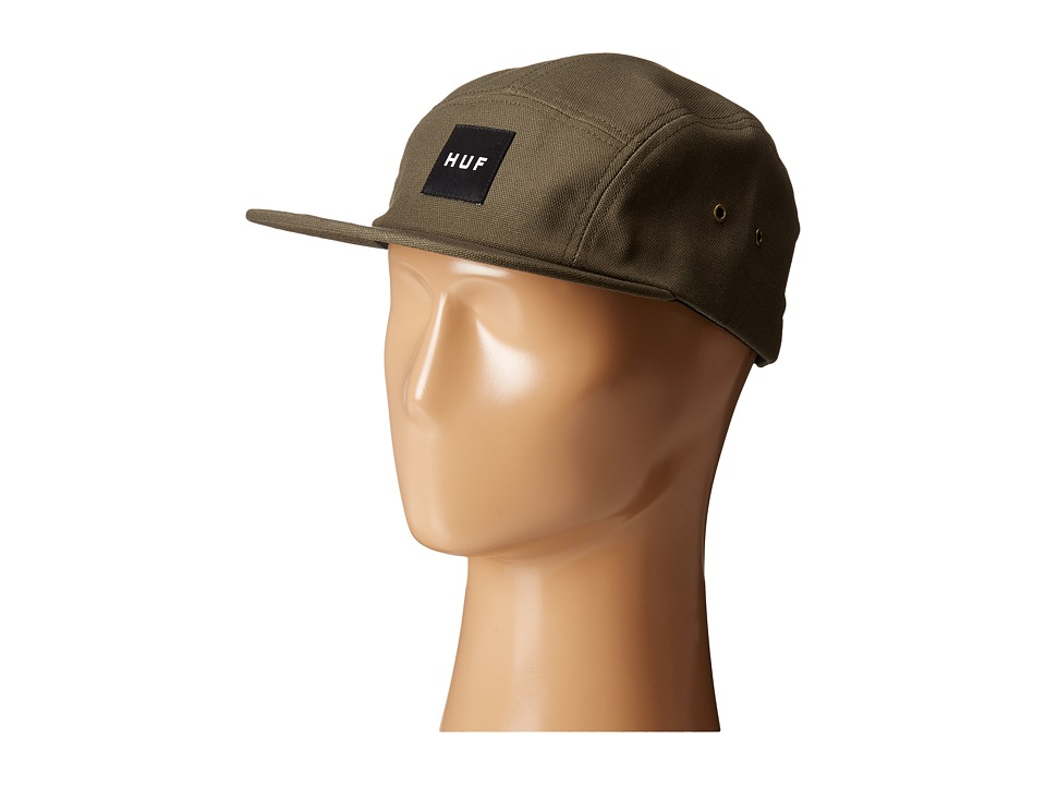 HUF - Duck Canvas Volley (Moss) Caps
