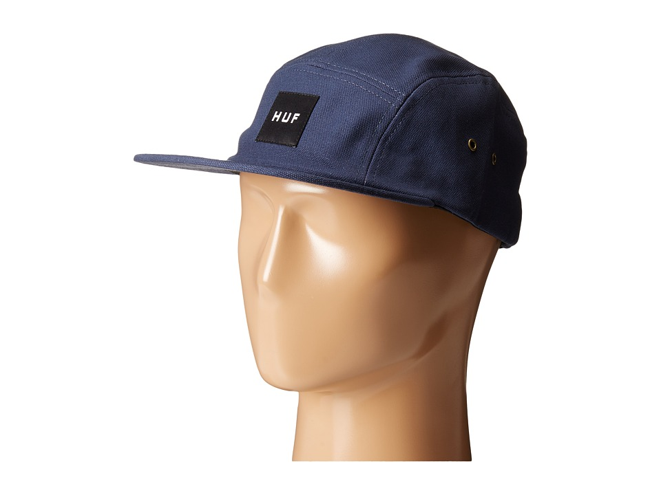 HUF - Duck Canvas Volley (Navy) Caps