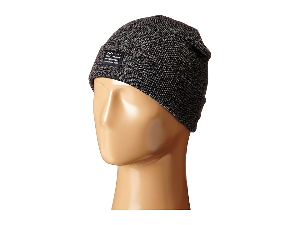 HUF - Mixed Yarn Beanie (Grey Heather) Beanies