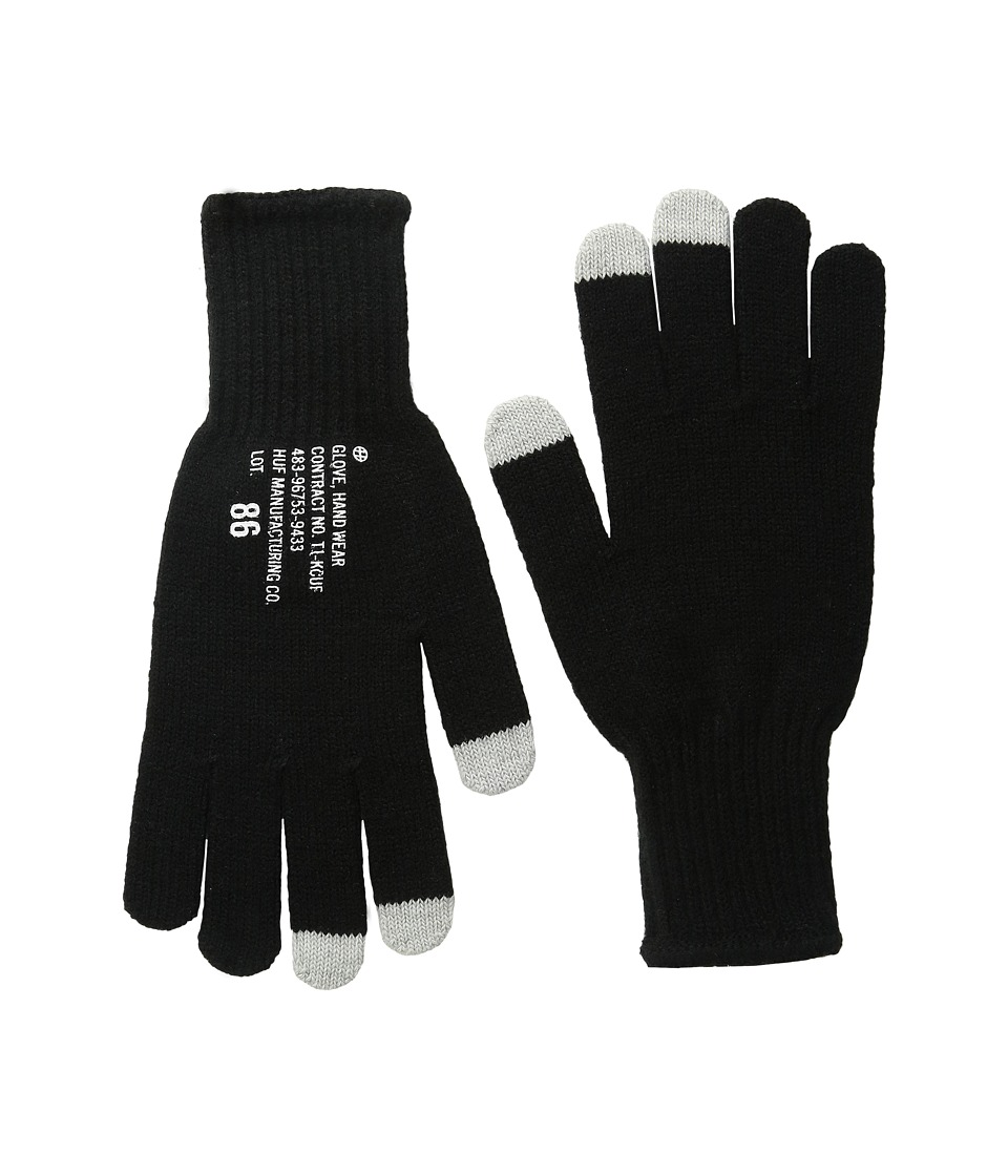 HUF - Military Glove (Black) Extreme Cold Weather Gloves