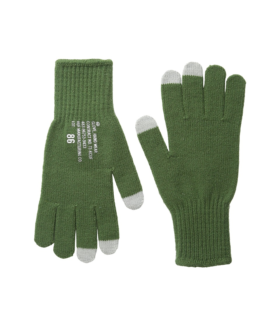 HUF - Military Glove (Olive) Extreme Cold Weather Gloves