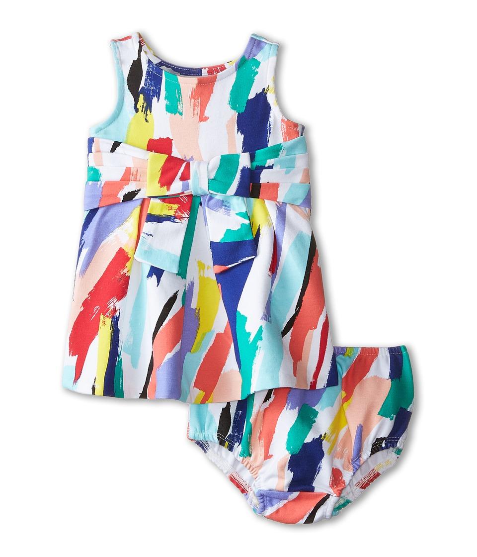 Kate Spade New York Kids - Jillian Dress (Infant) (Brush Stroke Print) Girl's Dress