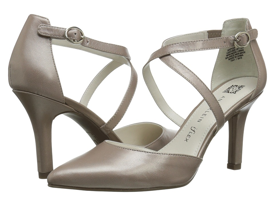 Anne Klein - Fion (Taupe Leather) High Heels