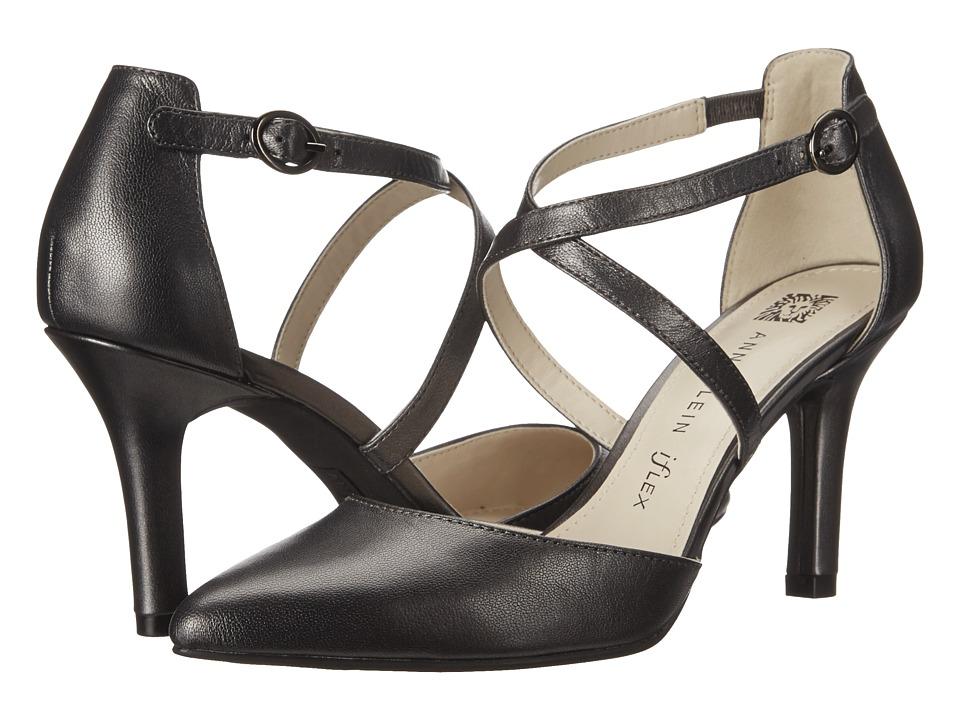 Anne Klein Fion (Pewter Leather) High Heels