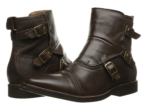 GUESS - Jermaine (Brown) Men's Pull-on Boots