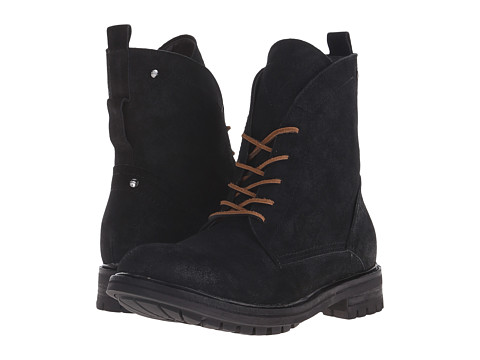 GUESS - Remmy (Black) Men's Lace-up Boots