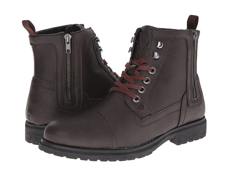 GUESS - Thorpe (Brown) Men's Lace-up Boots