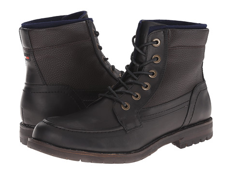Tommy Hilfiger - Brosnan (Black) Men's Lace-up Boots