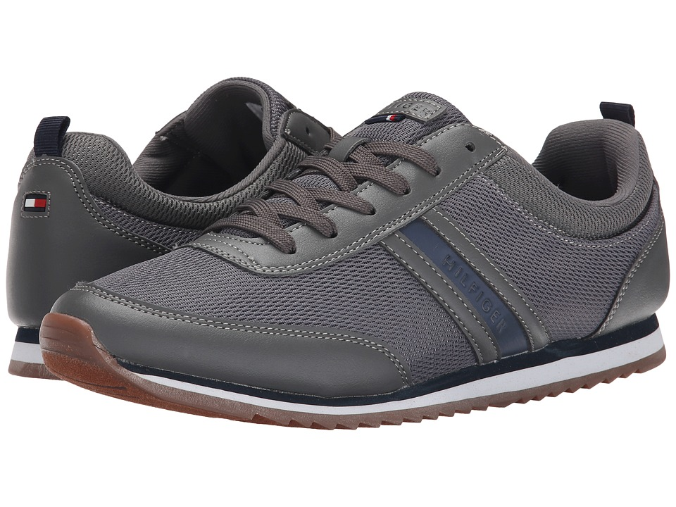 Tommy Hilfiger - Fonzie (Grey) Men's Lace up casual Shoes
