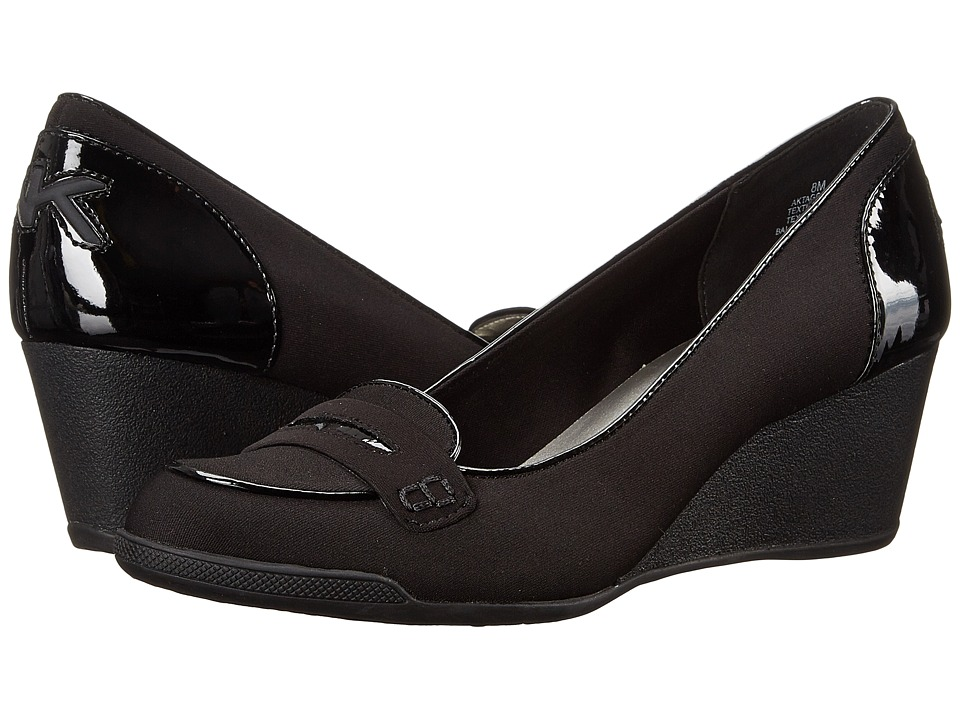 Anne Klein - Tagalong (Black Fabric) Women's Shoes