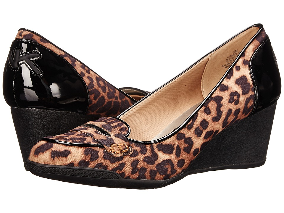 Anne Klein - Tagalong (Leopard Fabric) Women's Shoes