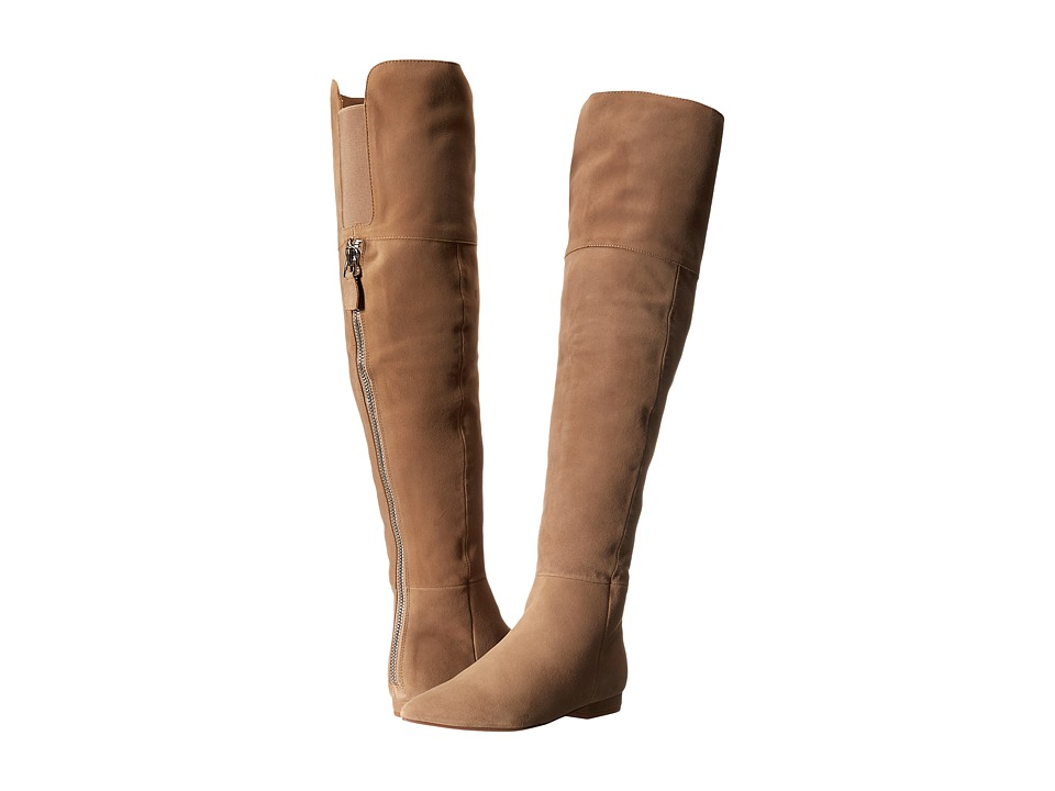 Kristin Cavallari - York Over the Knee Boot (Tawny Kid Suede) Women's Boots