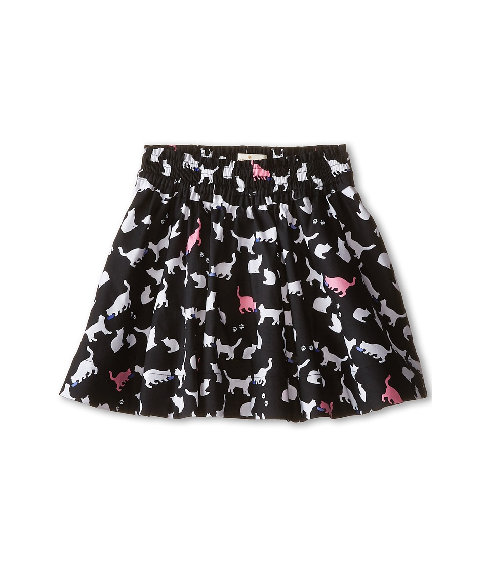 Kate Spade New York Kids - Smocked Skirt (Toddler/Little Kids) (Cat Print) Girl's Skirt