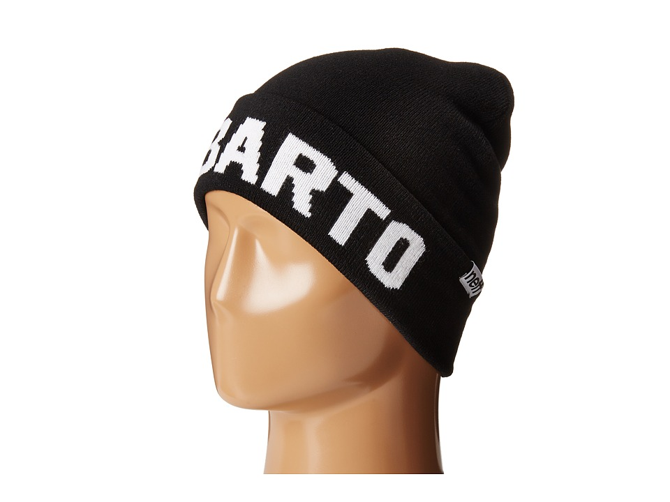 Neff - EL Barto Beanie (Little Kid/Big Kid) (Black) Beanies